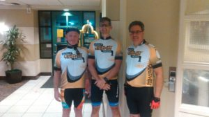 Doug Knight Cycling with the guys